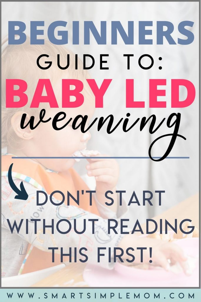 Don't know where to begin with BABY LED WEANING? Here's EVERYTHING you need to know: Complete Beginners Guide to BABY LED WEANING! #newmom #babyledweaning