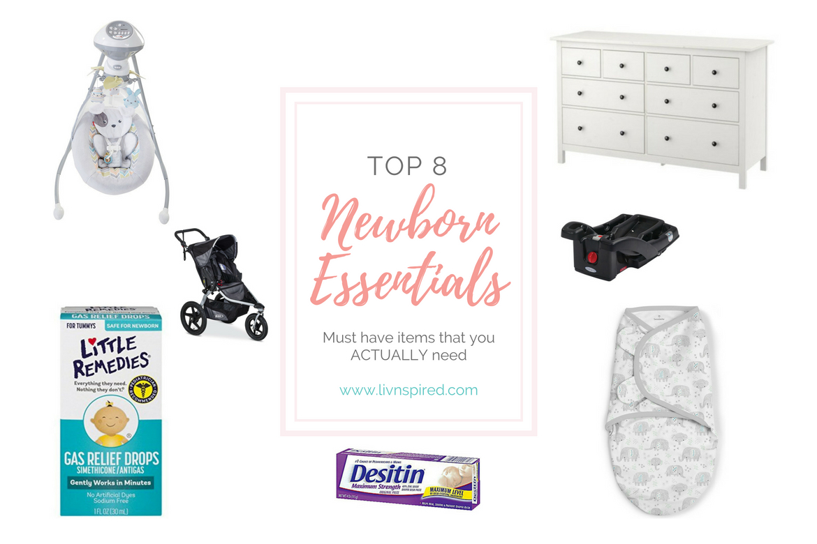 Top 8 Newborn ESSENTIALS