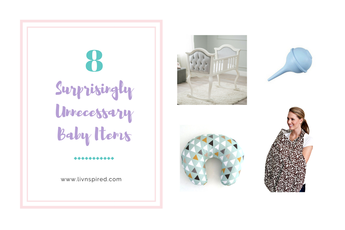 8 Surprisingly Unnecessary Baby Items