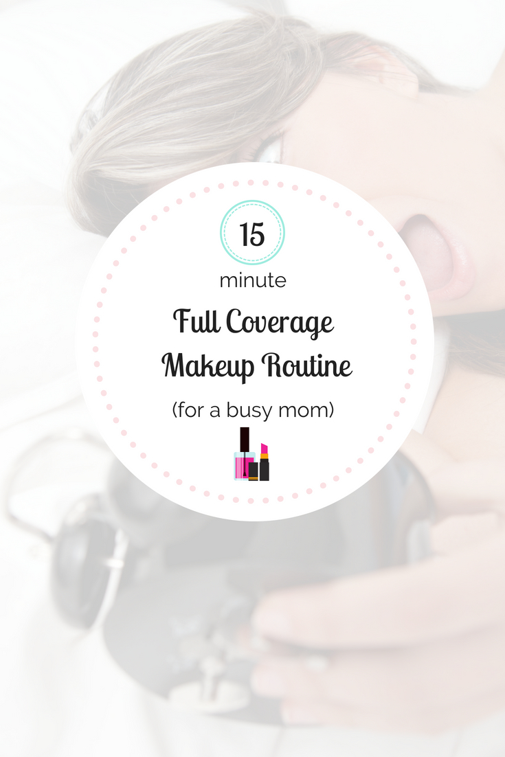 Do you notice yourself going days without wearing makeup, simply because you're so busy and exhausted?! I have fine-tuned my FULL COVERAGE everyday makeup routine to be completely finished in 15 minutes! Here\'s my 15 minute makeup routine: