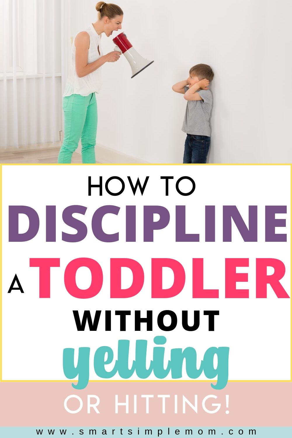 Discipline without yelling takes tremendous patience and requires a solid game plan, but hey, nobody said parenting would be easy! Learn how to discipline a toddler without yelling with these simple and effective steps.