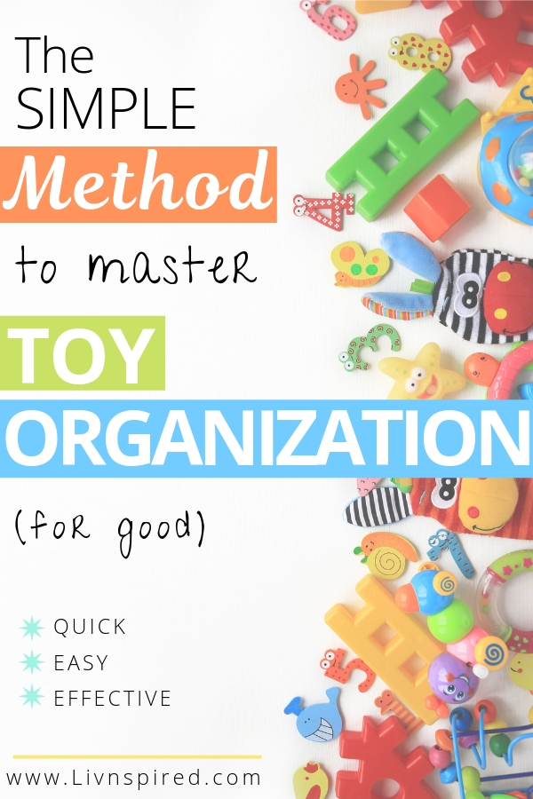 Swipe my TOY ORGANIZATION HACK to keeping your children's toys ORGANIZED and put away while teaching them to clean their toys up THEMSELVES! Yes, really.