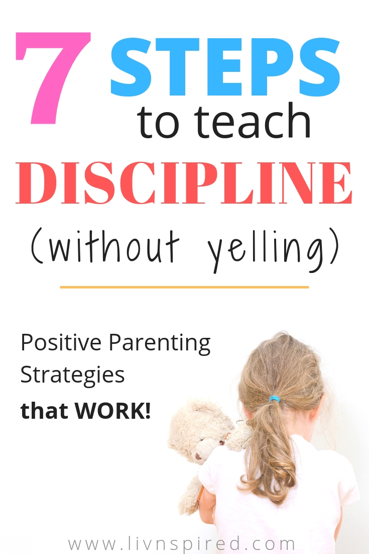 Discipline without yelling takes tremendous patience and requires a solid game plan, but hey, nobody said parenting would be easy! Here are my top tips for teaching discipline without yelling: #discipline #parenting #noyelling #momblog #momlife