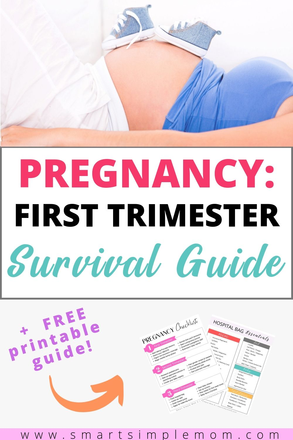 The first trimester can be rough. Here are my TOP TIPS on surviving the FIRST TRIMESTER of pregnancy and actually enjoy this amazing (yet overwhelming) journey!