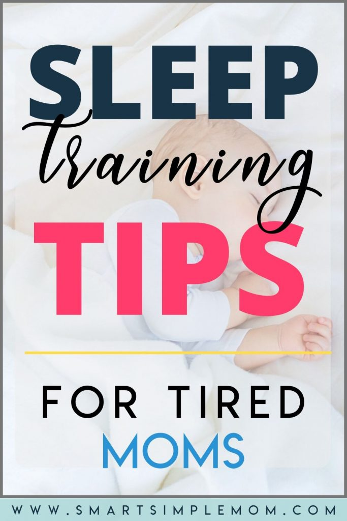 Find out how I got my babies to sleep through the night in less than 1 week with these SLEEP TRAINING TIPS! (Including options for cry it out or NO CRY method) #sleeptrainingtips #sleeptraining #newbornsleep